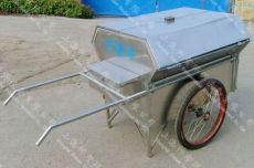 不锈钢保洁手推车 SZ-BJ102