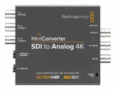 Mini Converter SDI to Analog 4K 轉換器