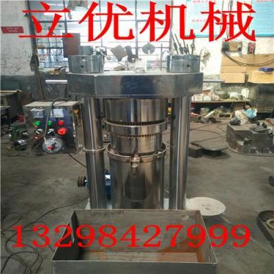 专业核桃油精炼设备 液压榨油机 芝麻香油机