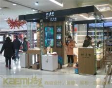 欧式化妆品展示柜 出口环保质量保证