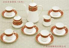 骨質瓷茶具套裝-高檔骨瓷茶具禮盒-潮州金鹿
