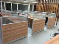 合肥全新转角工位桌屏风隔断办公桌款式价格