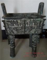仿古青铜鼎青铜器方鼎设计铸造制作厂家直销