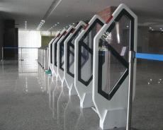 装广州湖北湖南图书馆门口立式防盗器