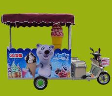 冰淇淋小吃车 冰淇淋小吃车厂家 花式冰淇淋