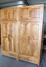老榆木衣柜實木衣柜
