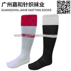 廣州服飾針織襪子廠家成人長統足球襪