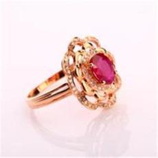 鸽血红红宝石戒指怎么交易可靠