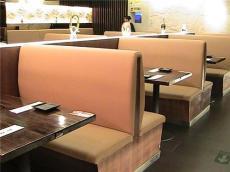 北京快餐桌椅 卡座沙发领航厂家北京佳信创
