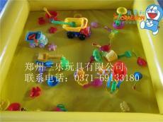 廣東河源廠家生產質量好的決明子池海洋球池