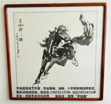 深圳市哪有裝裱好框的字畫 包畫框快遞物流