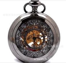 商务馈赠复古怀表进口机械机芯青铜复古外观