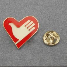青岛志愿者协会胸牌青年志愿者徽章爱心胸章