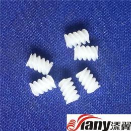 塑胶M0.3*4L三头精密蜗杆