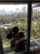 廣州玻璃門窗維修換玻璃地彈門拉手鋁合金