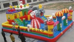 新款儿童充气城堡降落河北廊坊 生意好好
