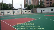 杭州余杭哪里有做塑胶篮球场的厂家 优质