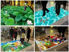 陕西西安展览馆投影互动设计公司 鑫灵电子