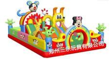 最具影響力的兒童充氣城堡三樂廠家定做銷售