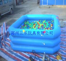 河南在哪里经营儿童充气沙滩池比较赚钱呢