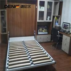 德尼尔书房家具定制 连体式书桌书柜组合