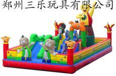 云南儿童玩的充气床多少钱一平方/图片款式