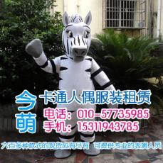 北京卡通人偶租赁行走卡通人偶出租灰色小熊
