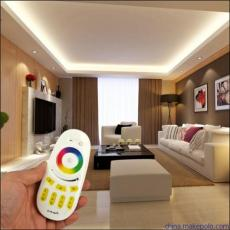 物联网智能家居远程控制2.4G调光调色温模块