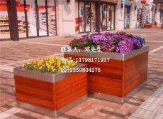不銹鋼木花箱 不銹鋼組合花槽 景觀花箱