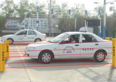 车辆超高超限检测光幕