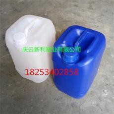 白色方形5升塑料桶 可码高5KG方桶生产厂家