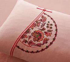 大簡純棉刺繡四件套秀國風