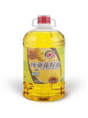 纯葵花籽油 5L纯物理压榨 绿色非转产品