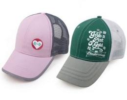 環保旅游帽時尚運動帽戶外廣告帽子定做網帽