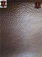 意大利進口頭層荔枝紋黃牛皮廠家--嘉泰皮革