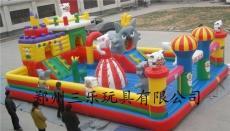 廣東中山熊出沒充氣城堡銷量領先