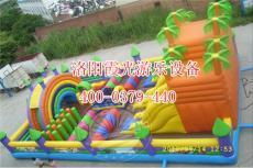 儿童充气城堡充气蹦床厂商 霞光游乐设备