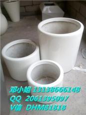 玻璃鋼圓柱形FRP方形棱型歐式組合創意花盆