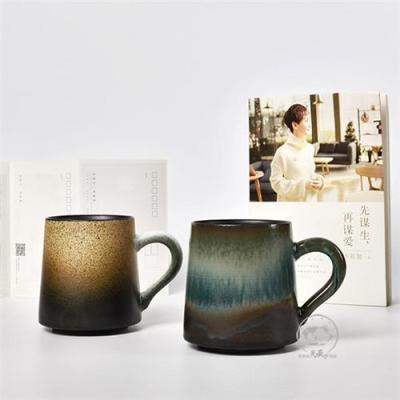 定做陶瓷礼品杯子带把柄 陶瓷礼品杯子批发
