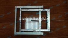盈佳08606鋼鍍鋅腳踏折疊梯子車廂踏板方艙