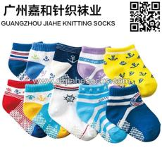 防滑纯棉儿童袜 可爱胶粒儿童袜子 儿童袜子