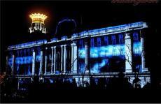 西安樓體投影秀 陜西樓體投影秀 樓體繡
