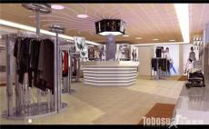 服裝店玫瑰金展示架 女裝店不銹鋼貨架廠家