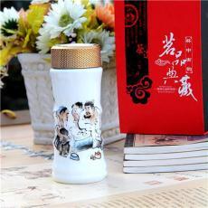 陶瓷保温杯 竹节陶瓷保温杯