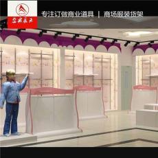 服装展柜批发 大型商场服装展示柜合作厂家