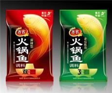 重庆鱼调料包装袋设计 调料包装亚美设计