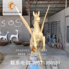 上海升美仿铜卡通玻璃钢雕塑景观雕塑定做