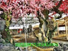 浙江省杭州假山 假树 仿木 栏杆 施工