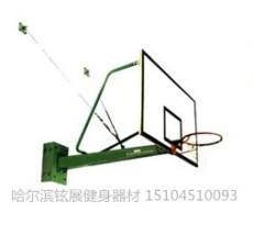 悬臂篮球架 悬壁式篮球架图片 铉展篮球架