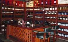 定制 超市烟柜木质博亚直播精品烟酒展柜 红酒